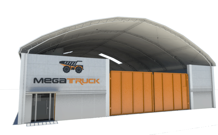 MEGATRUCK mejora sus instalaciones